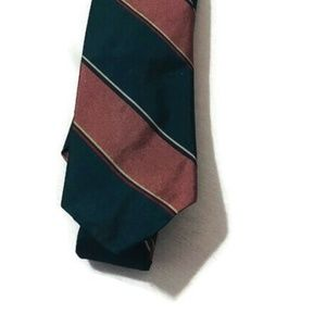 Christian Dior Striped Skinny Tie